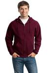 993 Jerzees Adult 8oz. NuBlend® 50/50 Full-Zip Hood