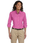 DP625W Devon & Jones Ladies' Three-Quarter Sleeve Stretch Poplin Blouse