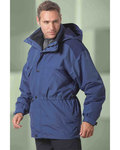 88007 Ash City - North End Men's 3-in-1 Parka with Dobby Trim