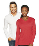 N6021 Next Level Unisex Triblend Long-Sleeve Hoodie