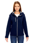 78166 - North End Ladies' Prospect Two-Layer Fleece Bonded Soft Shell Hooded Jacket