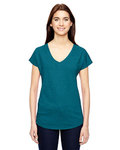 6750VL - Ladies' Triblend V-Neck T-Shirt