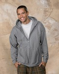 Hanes F280 Ultimate Cotton ® Full Zip Hooded Sweatshirt