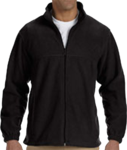 M990 Harriton Men's 8oz. Full-Zip Fleece