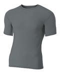 N3130 A4 Short Sleeve Compression Crew Shirt