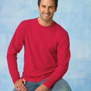 Hanes 498L Adult 4.5oz 100% Ringspun Cotton nano-T® Long-Sleeve T-Shirt Thumbnail