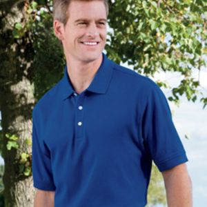 D100 Devon & Jones Men's Pima Piqué Short-Sleeve Polo Thumbnail
