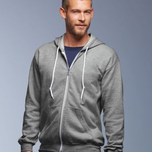 71600 Anvil Ringspun Full-Zip Hooded Sweatshirt Thumbnail