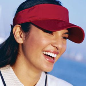 Big Accessories BX006 Cotton Twill Visor Thumbnail