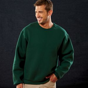 82300 Fruit of the Loom 12oz.Supercotton™ 70/30 Fleece Crew Thumbnail