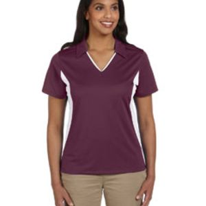 M355W Harriton Ladies' Side Blocked Micro-Piqué Polo Thumbnail