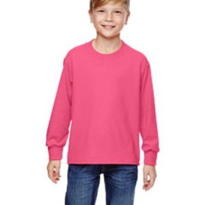 4930B Fruit of the Loom Youth 5oz. 100% Heavy Cotton HD™ Long-Sleeve T-Shirt Thumbnail