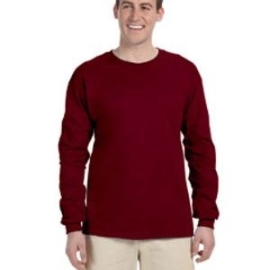 4930 Fruit of the Loom Adult 5oz. 100% Heavy Cotton HD™ Long-Sleeve T-Shirt Thumbnail