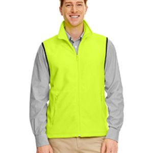 M985 Harriton Fleece Vest Thumbnail