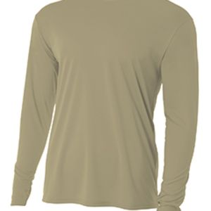 N3165 A4 Long-Sleeve Cooling Performance Crew Neck T-Shirt Thumbnail