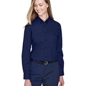 78193 - Core 365 Ladies' Operate Long-Sleeve Twill Shirt Thumbnail