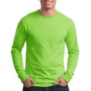 Hanes 5286-PR Adult 5.2 oz. ComfortSoft® Cotton Long-Sleeve T-Shirt Thumbnail