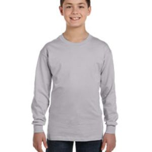 Gildan G540B Youth 5.3oz. Long-Sleeve T-Shirt Thumbnail