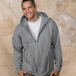 Hanes F280 Ultimate Cotton ® Full Zip Hooded Sweatshirt Thumbnail