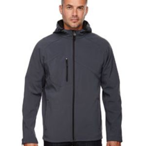 88166 - North End Men's Prospect Two-Layer Fleece Bonded Soft Shell Hooded Jacket Thumbnail