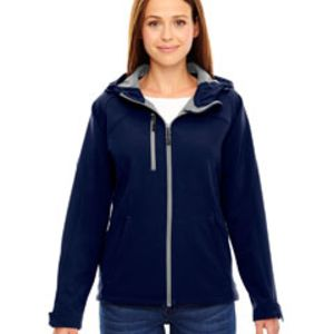 78166 - North End Ladies' Prospect Two-Layer Fleece Bonded Soft Shell Hooded Jacket Thumbnail