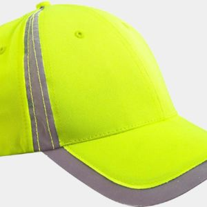 BX023 Big Accessories Reflective Accent Safety Cap Thumbnail