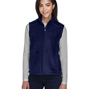 78191 Core 365 Ladies' Journey Fleece Vest Thumbnail