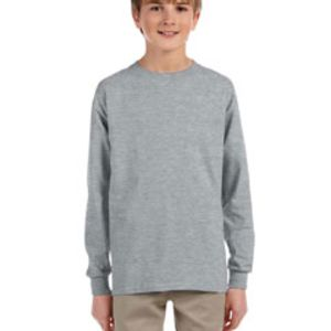 29BL - Jerzees Youth 5.6oz. DRI-POWER® ACTIVE Long-Sleeve T-Shirt Thumbnail