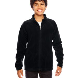 TT90Y - Team 365 Youth Campus Microfleece Jacket Thumbnail