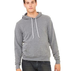 3719 - Bella + Canvas Unisex Sponge Fleece Pullover Hoodie Thumbnail