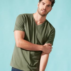6440 - Next Level Men's Sueded V-Neck T-Shirt Thumbnail