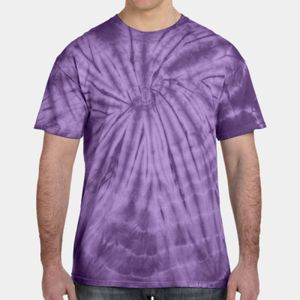 CD101 - Tie-Dye 5.4oz. 100% Cotton Spider T-Shirt Thumbnail