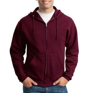 993 Jerzees Adult 8oz. NuBlend® 50/50 Full-Zip Hood Thumbnail
