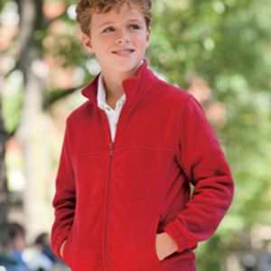 M990Y Harriton Youth 8oz. Full-Zip Fleece Thumbnail
