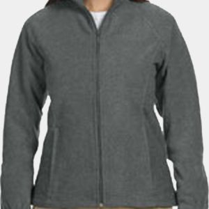 M990W Harriton Ladies' 8oz. Full-Zip Fleece Thumbnail