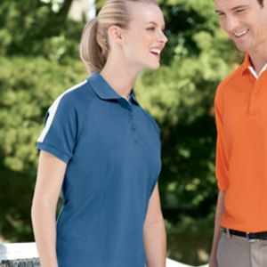 DG375W Devon & Jones Ladies' Dri-Fast™ Advantage™ Colorblock Mesh Polo Thumbnail