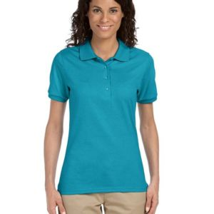 Jerzees 437W Ladies' 5.6oz., 50/50 Jersey Polo with SpotShield™ Thumbnail
