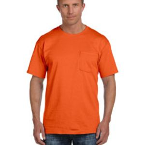 3931P Fruit of the Loom 5oz. Heavy Cotton HD Pocket T-Shirt Thumbnail
