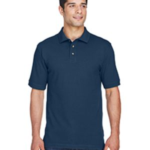 M200 Harriton Men's 6 oz. Ringspun Cotton Piqué Short-Sleeve Polo Thumbnail
