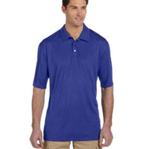 441M Jerzees Men's 4.1oz., 100% Polyester Micro Pointelle Mesh SPORT with Moisture-Wicking Polo Thumbnail