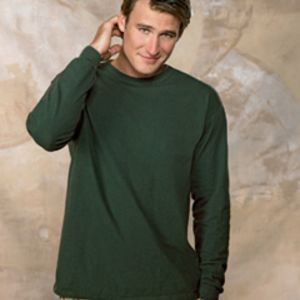 5186 Hanes Adult 6.1oz Long-Sleeve Beefy-T Thumbnail