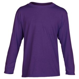 G424B Gildan Performance™ Youth 4.5 oz. Long-Sleeve T-Shirt Thumbnail