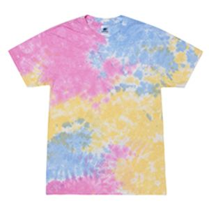 CD100-X Tie-Dye 5.4oz., 100% Cotton Tie-Dyed T-Shirt Thumbnail