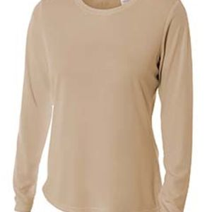 NW3002 A4 Ladies' Long Sleeve Cooling Performance Crew Shirt Thumbnail