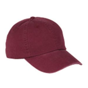 BX005 Big Accessories 6-Panel Washed Twill Low-Profile Cap Thumbnail