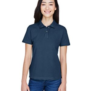 M200W Harriton Ladies' 6 oz. Ringspun Cotton Piqué Short-Sleeve Polo Thumbnail