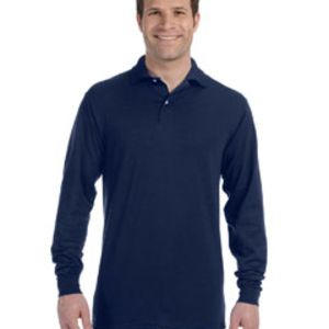 437ML Jerzees 5.6oz., 50/50 Long-Sleeve Jersey Polo with SpotShield™ Thumbnail