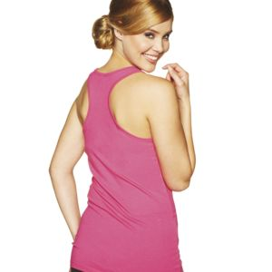6633 Next Level Ladies' Jersey Racerback Tank Thumbnail