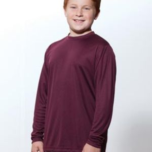 NB3165 A4 Youth Long Sleeve Cooling Performance Crew Shirt Thumbnail