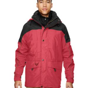 88006 Ash City - North End Men's 3-in-1 Two-Tone Parka Thumbnail